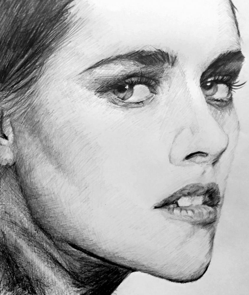 Kristen Stewart by linshyhchyang